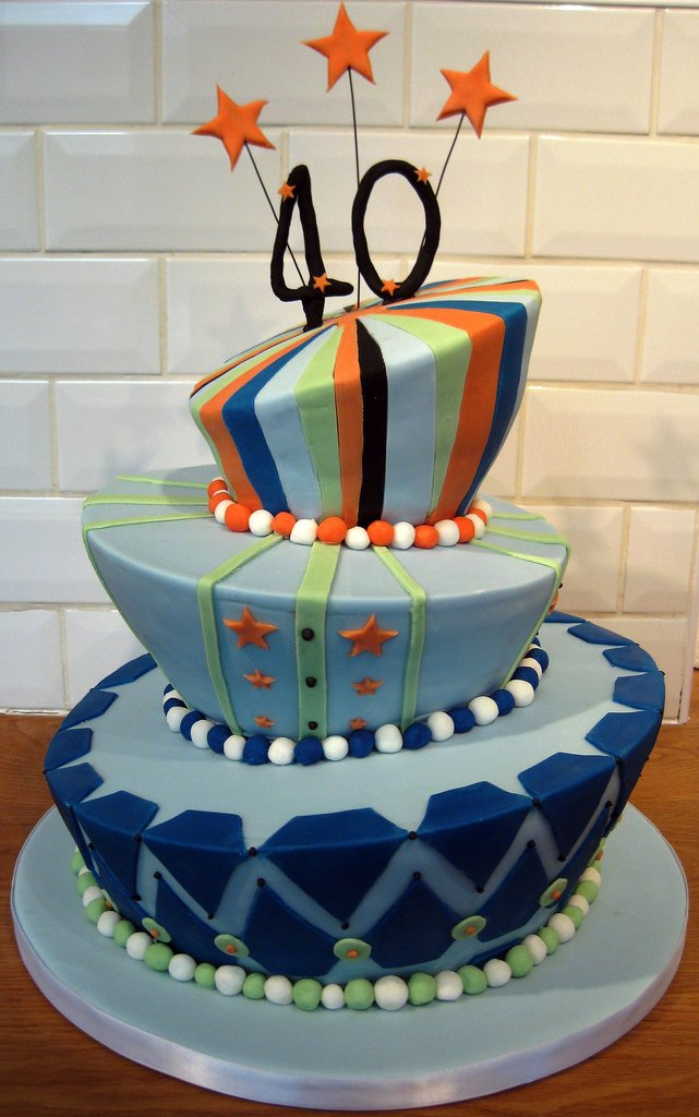 Cake Design Ideas For 40th Birthday : Yes, It Really Happened - - page 2